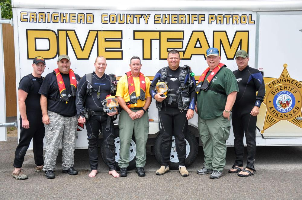 Craighead County Dive Team